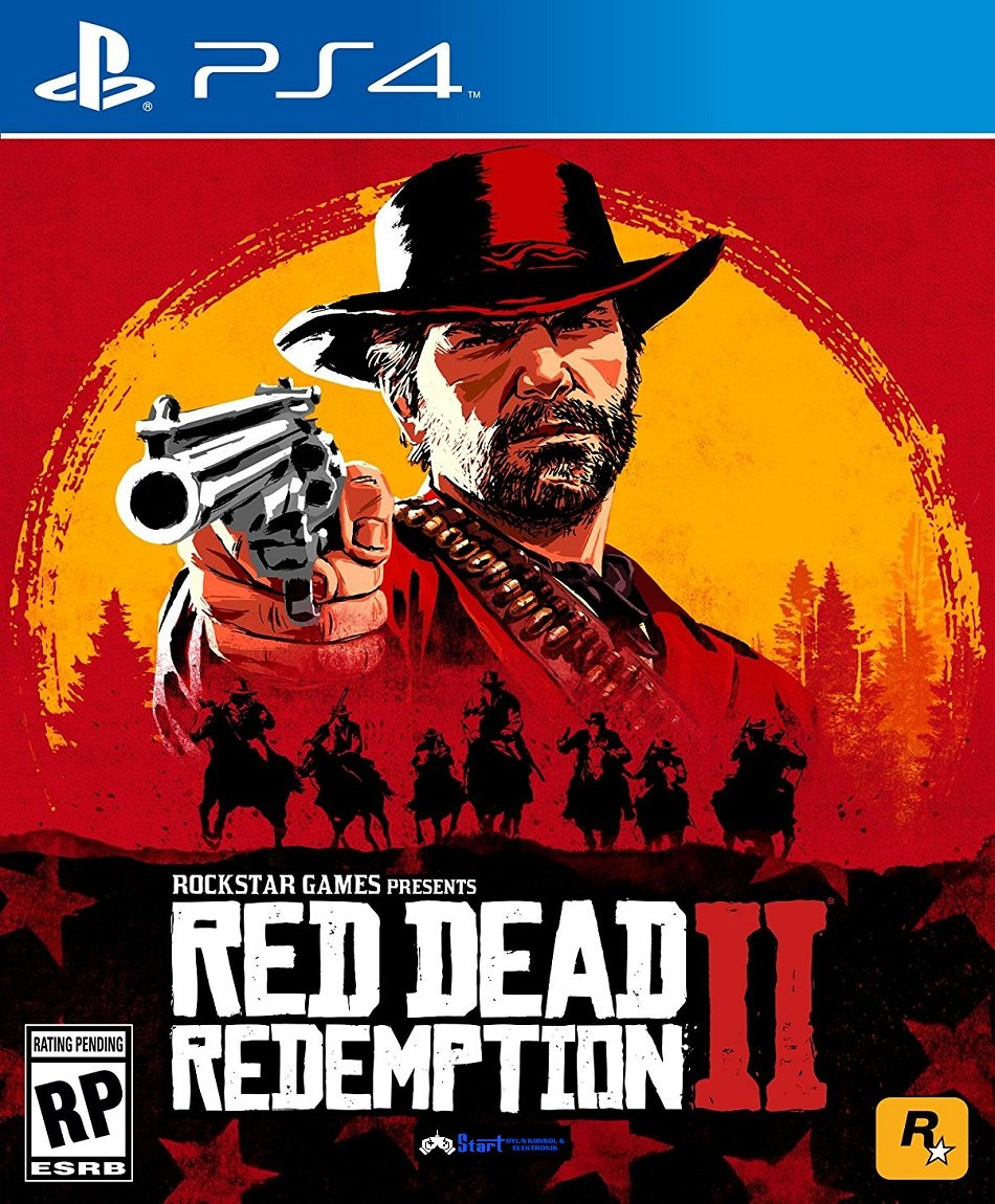 Sony Red Dead Redemption 2  Siyah