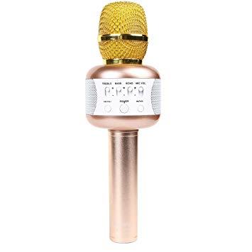 Doppler Doppler Karaoke Mikrofonu  Altın