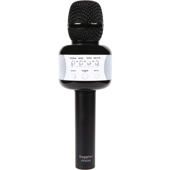 Doppler Doppler Karaoke Mikrofonu  Siyah