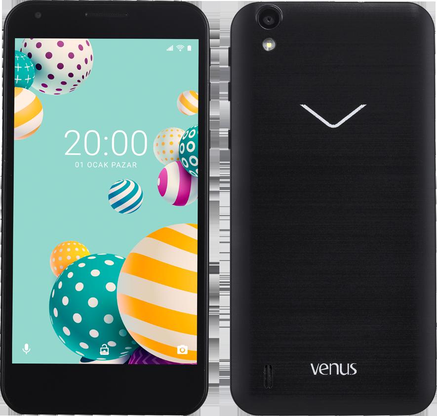 Vestel Venus 5000 (1 GB Ram)  Siyah