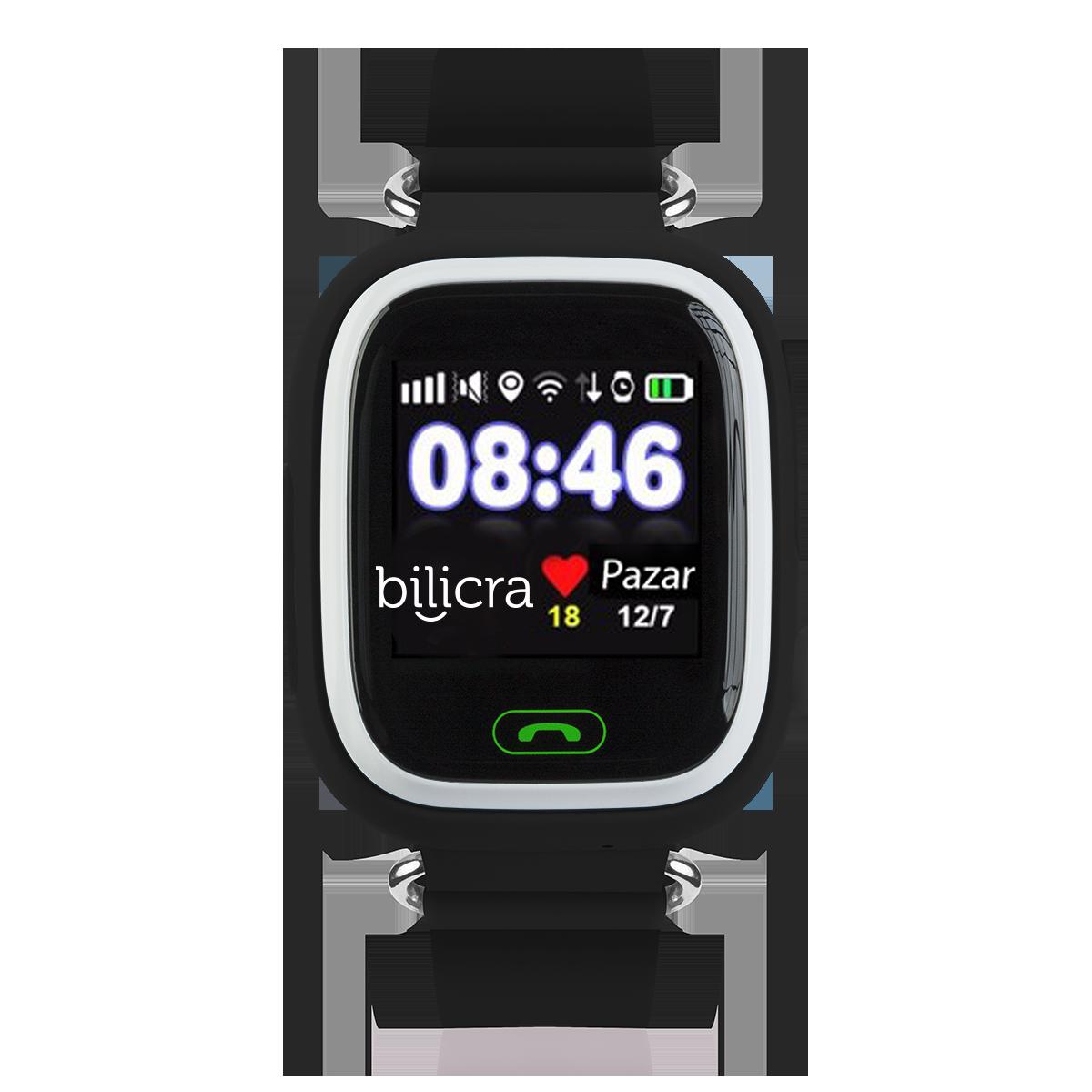 Bilicra Gps Akıllı Çocuk Saati (BLC101)  Siyah