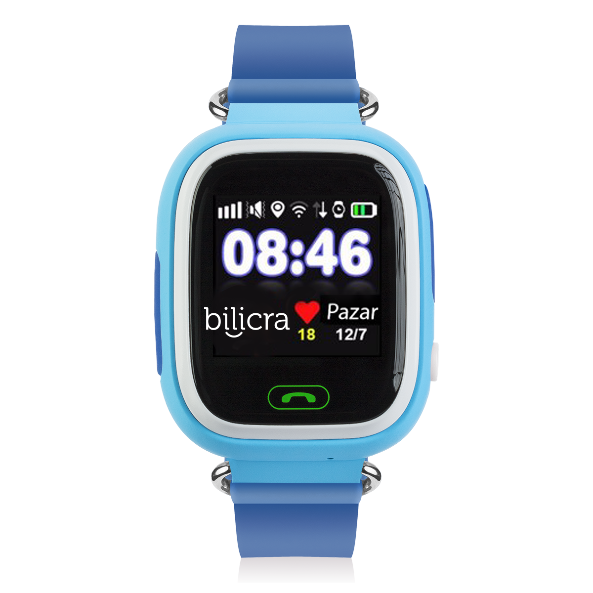 Bilicra Gps Akıllı Çocuk Saati (BLC101)  Mavi