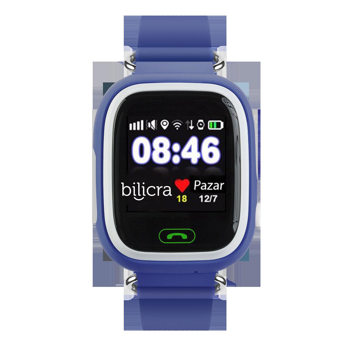 Bilicra Gps Akıllı Çocuk Saati (BLC101)  Lacivert