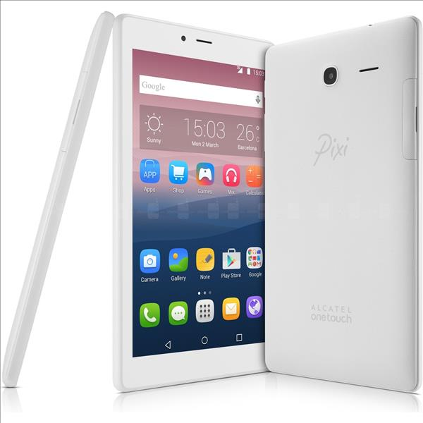 "Alcatel Pixi 4 7"" Wifi Tablet 8 GB Beyaz"