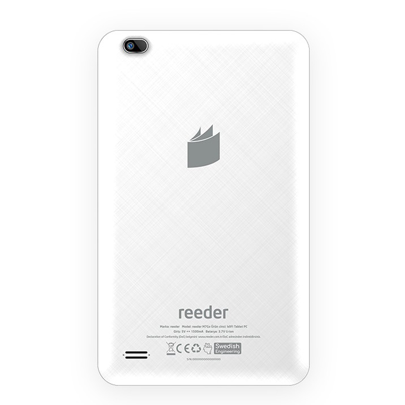 Reeder M8 GO 8 GB Beyaz