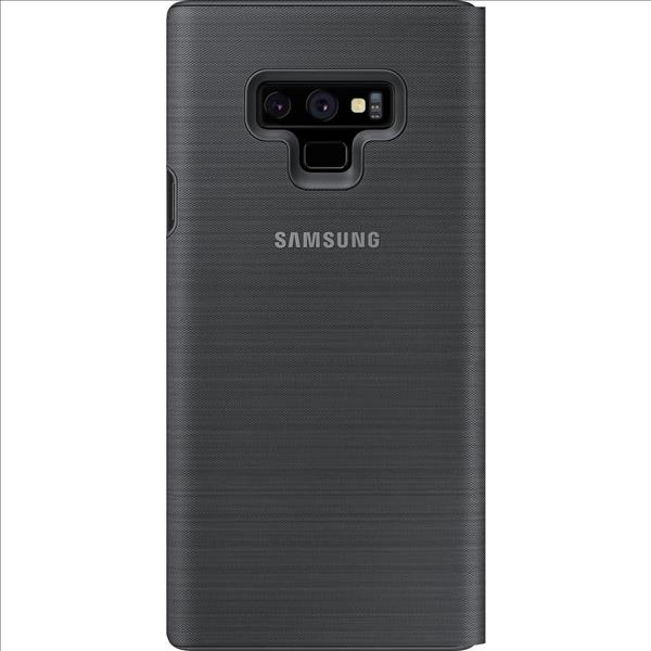 Samsung Note 9 Led View Kılıf  Siyah