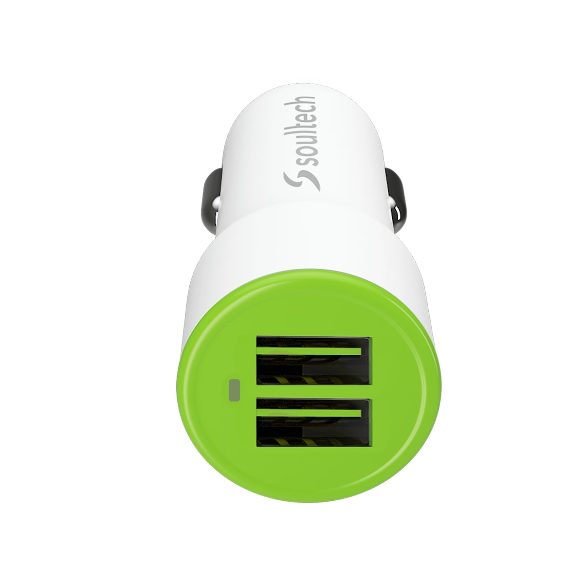 Soultech Comfort Micro 2 Usb Araç Şarjı + Kablo SC344B  3.1 MAH  Beyaz