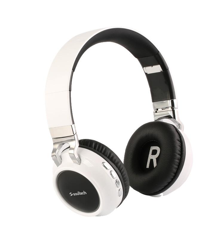 Soultech Rainbow (Bluetooth) Solo Kulaklık BH013BS  Beyaz