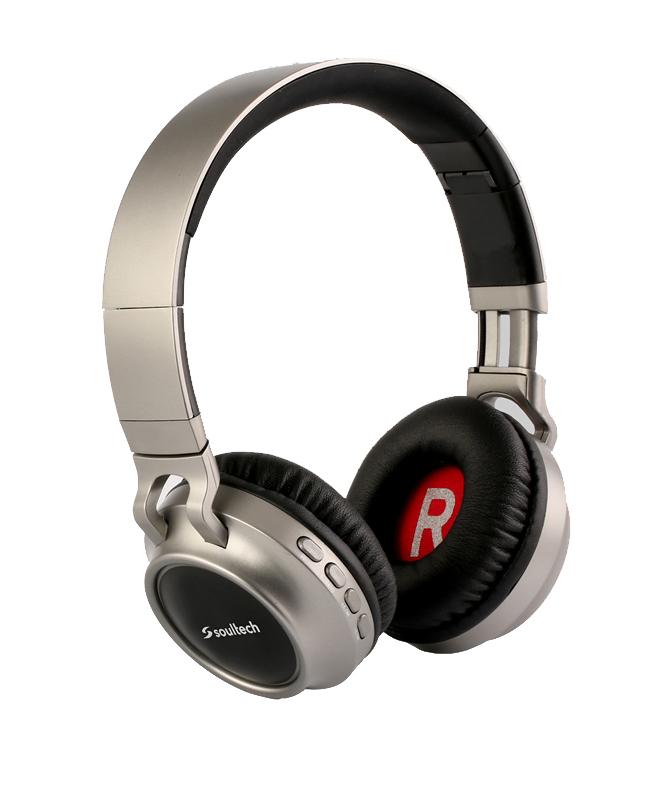 Soultech Rainbow (Bluetooth) Solo Kulaklık BH013GS  Gri