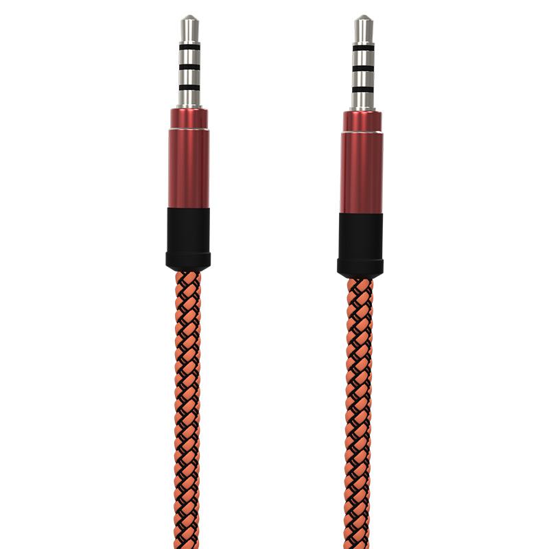 Soultech Turuncu Aux Kablo DK902T (İpli)  Turuncu