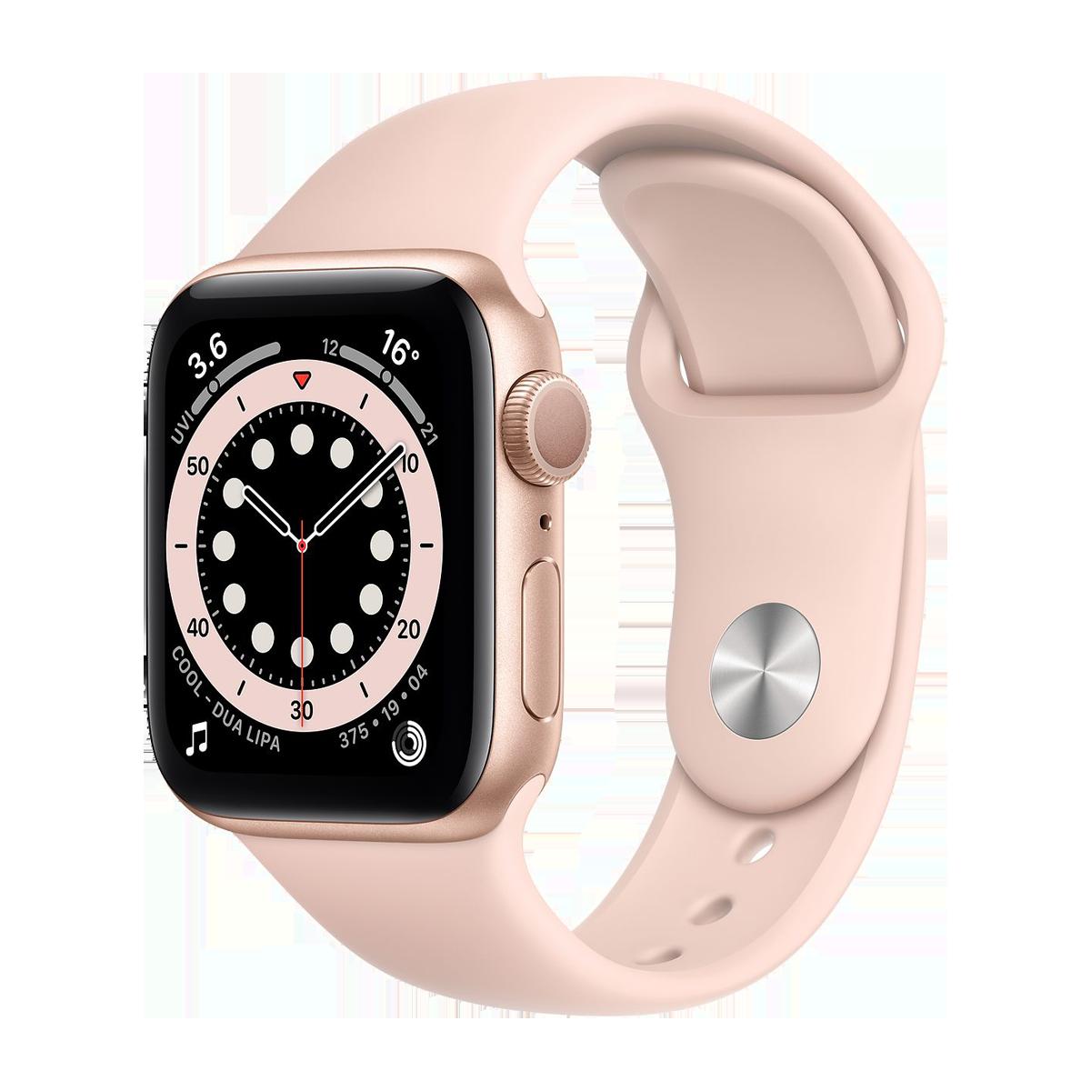 Apple Watch S6 40mm Sport Band Regular  Altın
