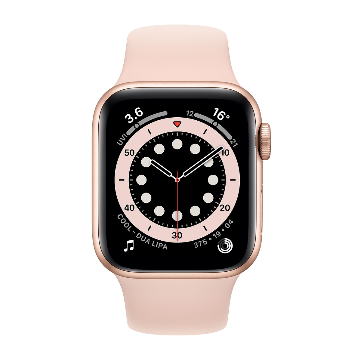 Apple Watch S6 44mm Sport Band Regular  Altın