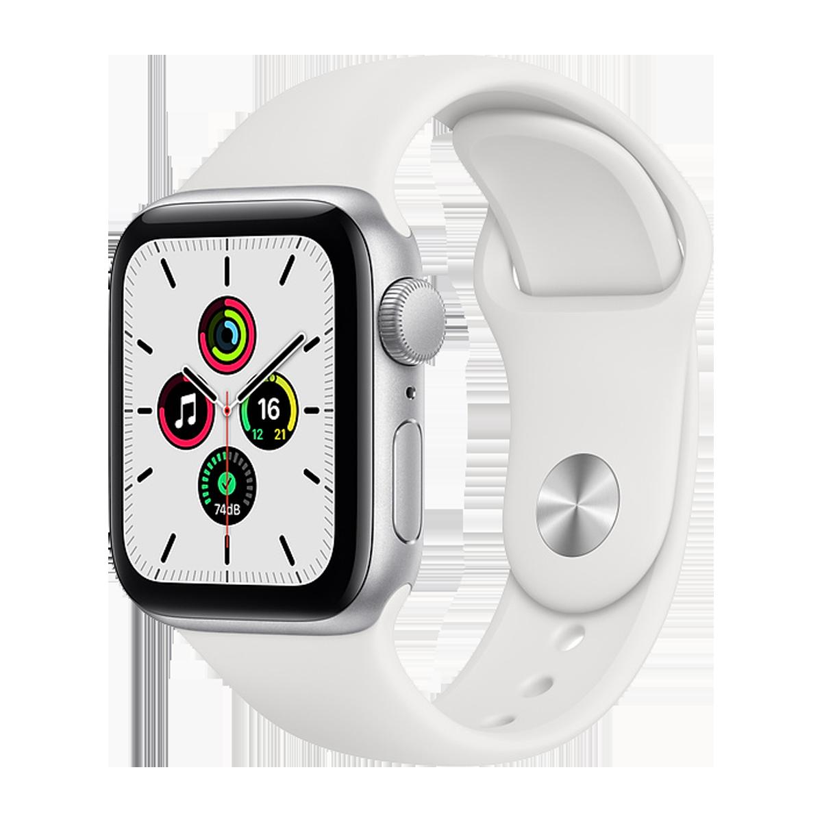 Apple Watch SE 40mm Sport Band Regular  Silver