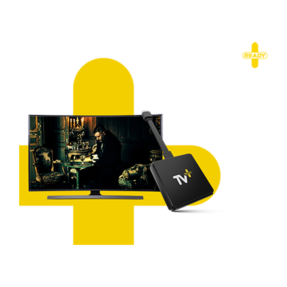 Turkcell TV Plus Ready 4K  Siyah