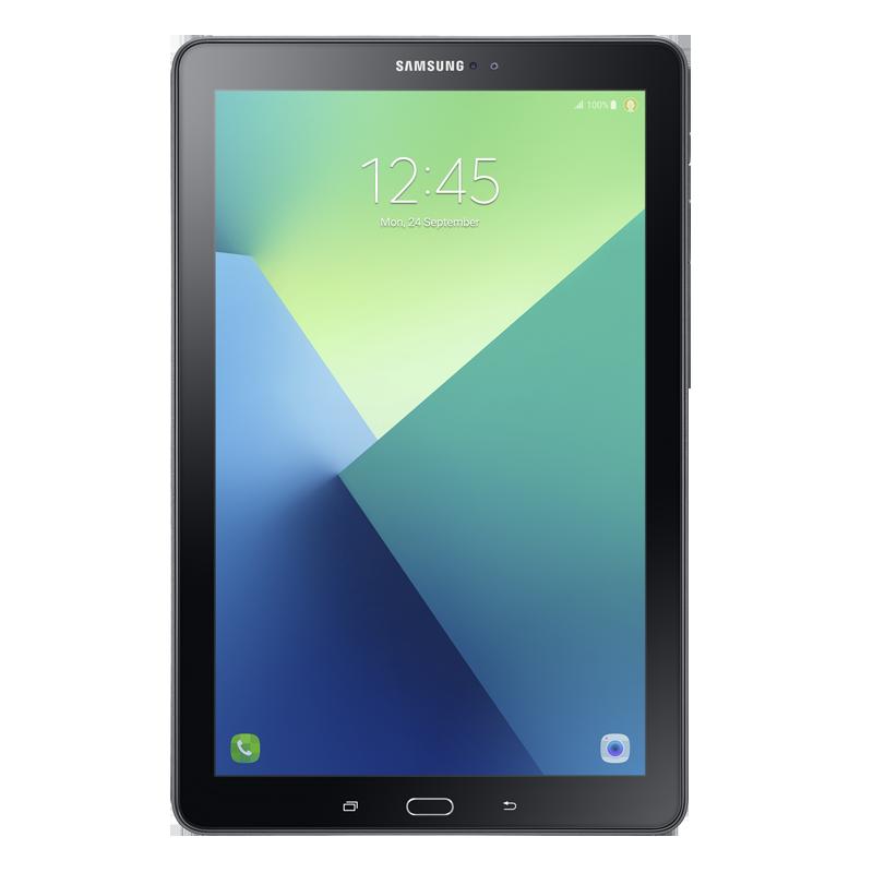 """Samsung P587 Galaxy Tab A 2016 10.1"""" LTE 16 GB Siyah"""