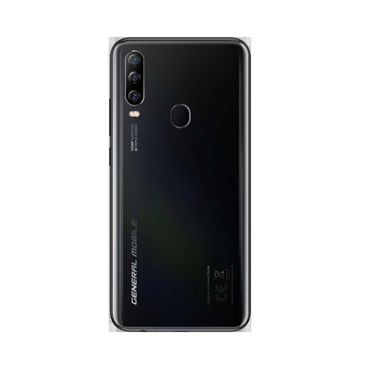 General Mobile GM 20 Pro 128 GB Siyah