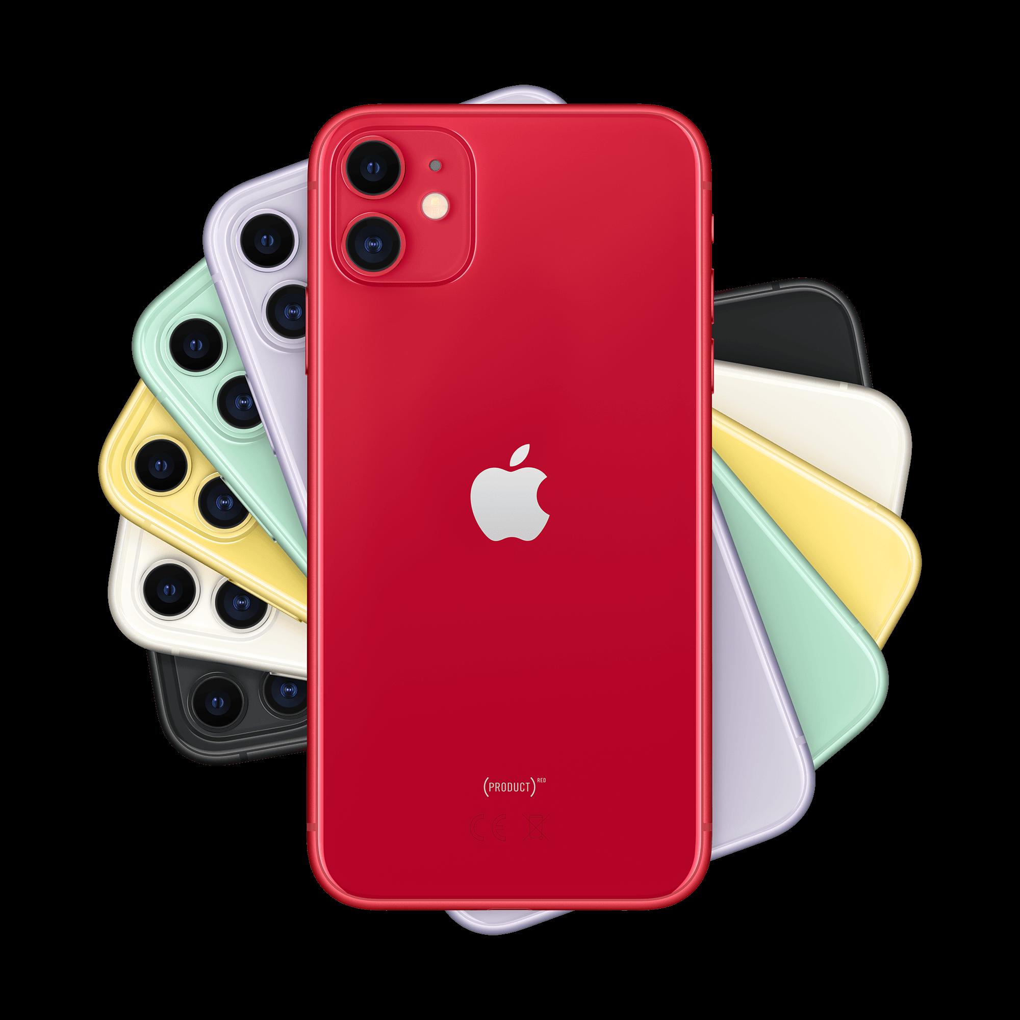 Apple iPhone 11 128 GB Kırmızı